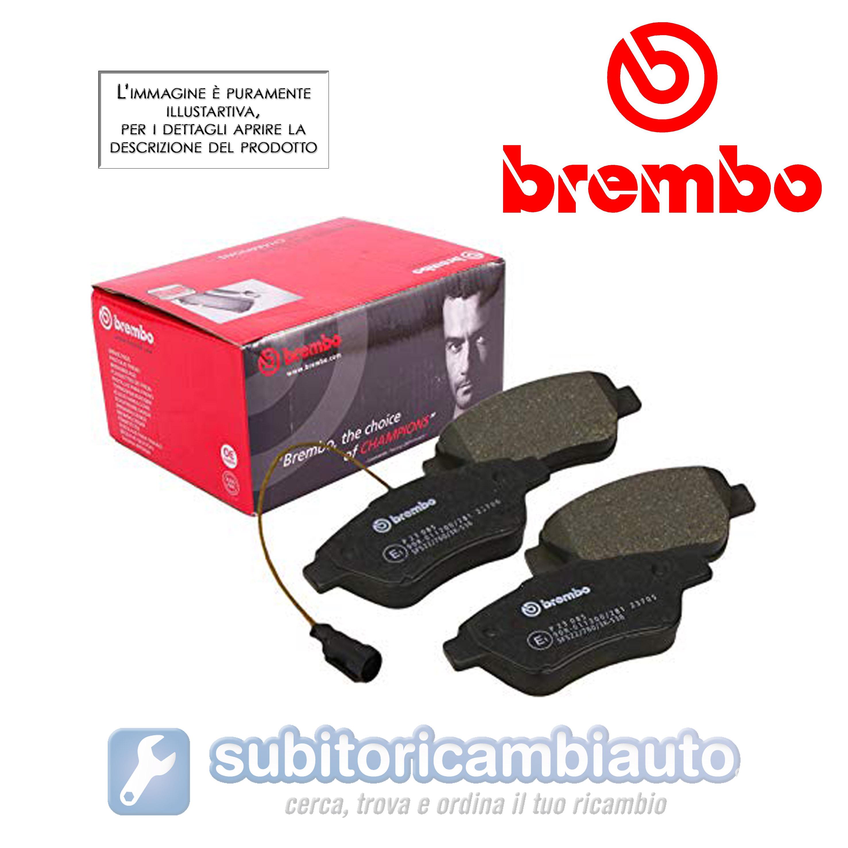 Brembo P06078 Pastiglia Freno Disco Anteriore